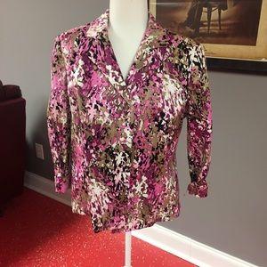 Beautiful floral jacket